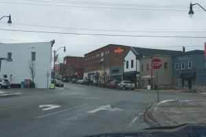 Town Downtown Bracebridge
