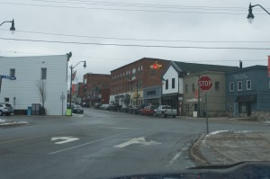 Town Downtown Bracebridge